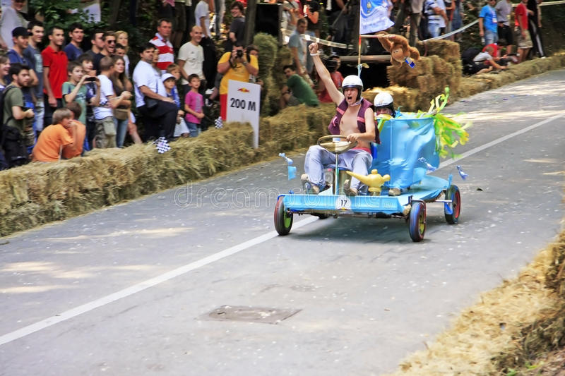 Soapbox Race. Zagreb, Croatia, June 12, 2011 - Red Bull Soapbox Race