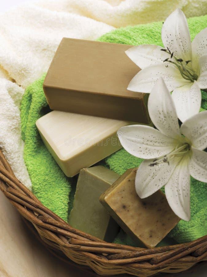Download Soaps stock image. Image of bath, hygiene, fresh, handmade - 9568369