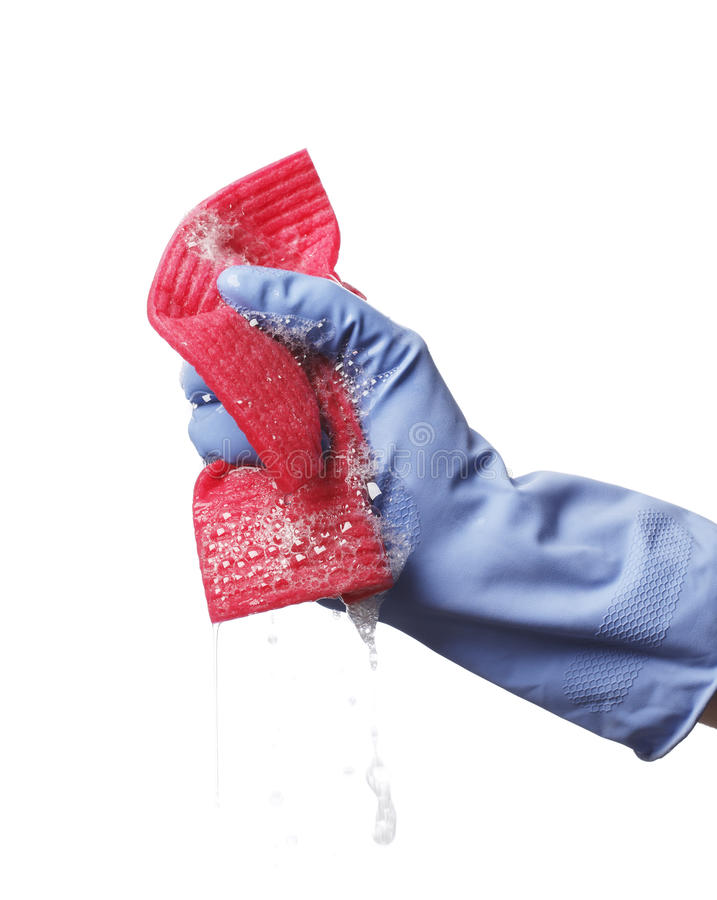 Download Soapy Cloth Royalty Free Stock Images - Image: 14373919