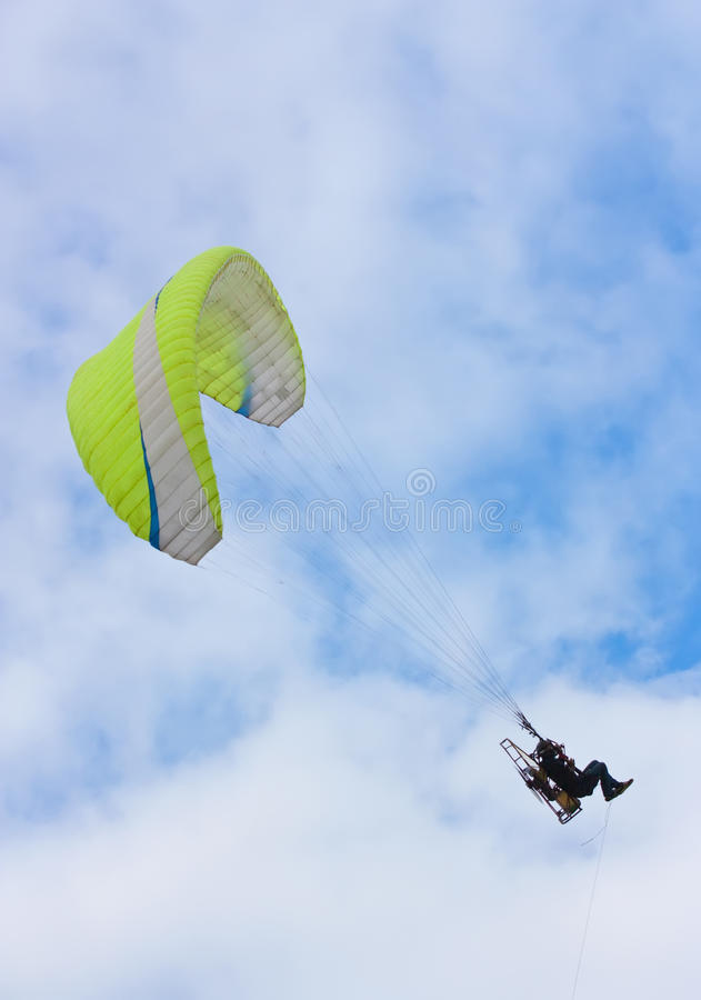 Download Soaring  Paraglider stock photo. Image of adventure, outdoors - 16199998
