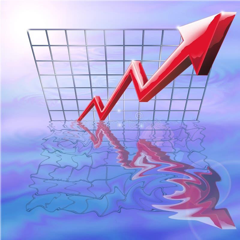 Download Soaring Profits stock illustration. Illustration of increase - 5056350