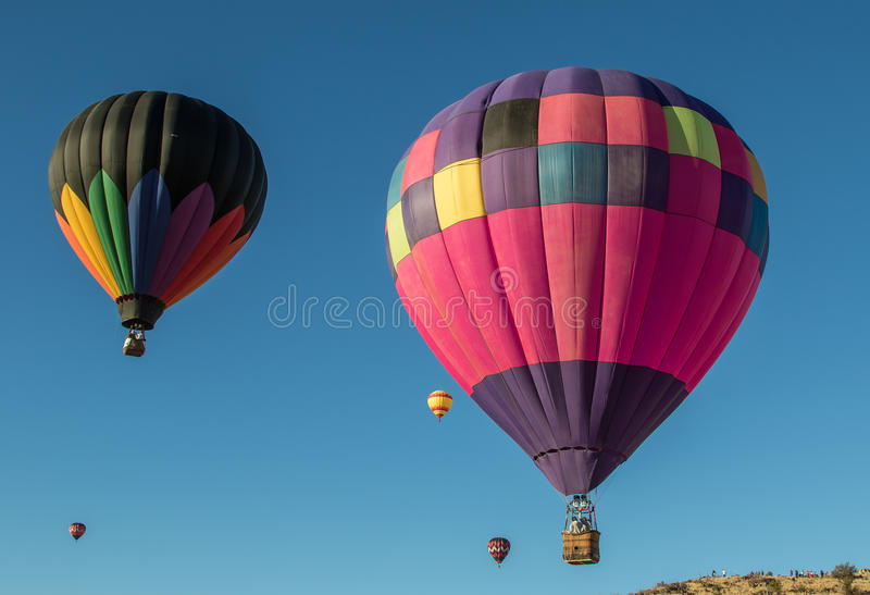 Soaring in the Skies in California stock image