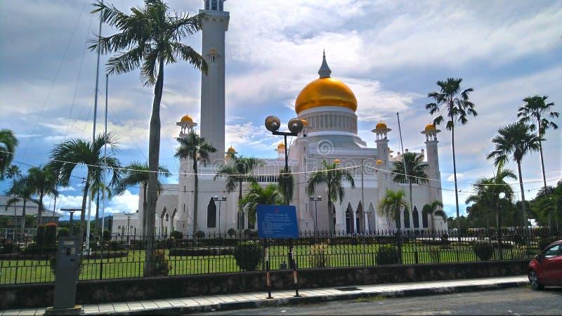 SOAS-moské i Brunei arkivbild