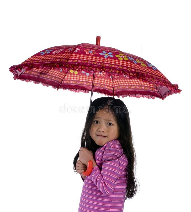 Sob o guarda-chuva 3 imagem de stock