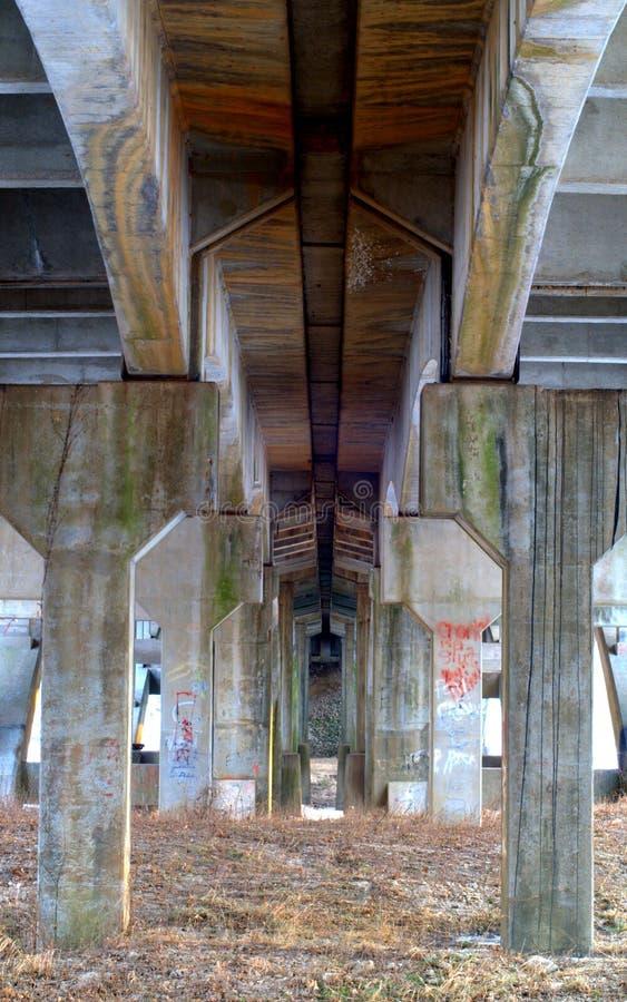 Sob a ponte da rota 66 imagens de stock royalty free