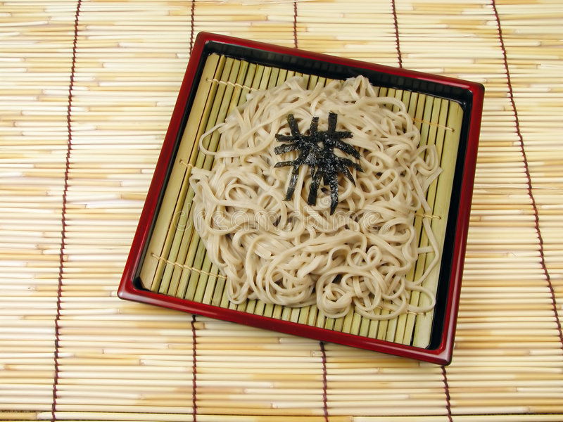 Soba royalty free stock photo