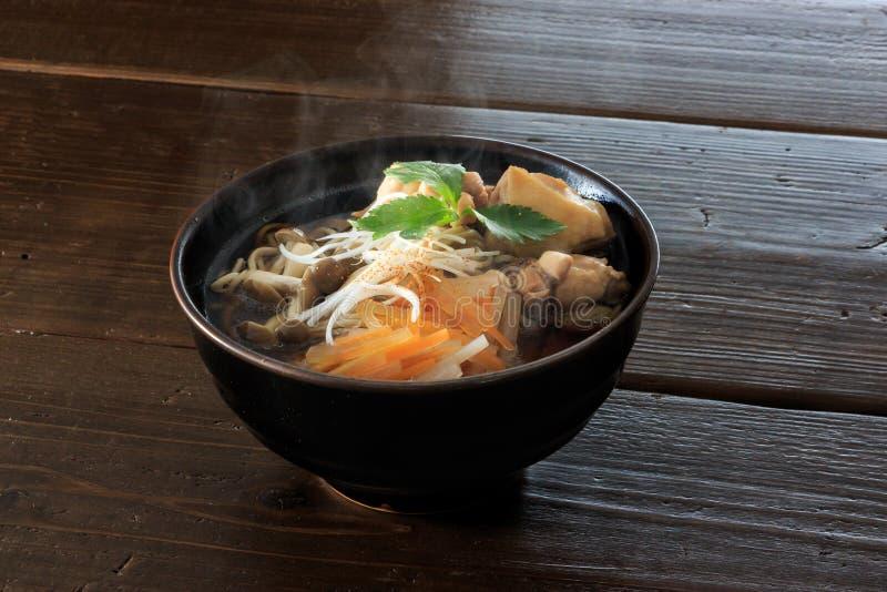 Soba di Kashiwa immagini stock