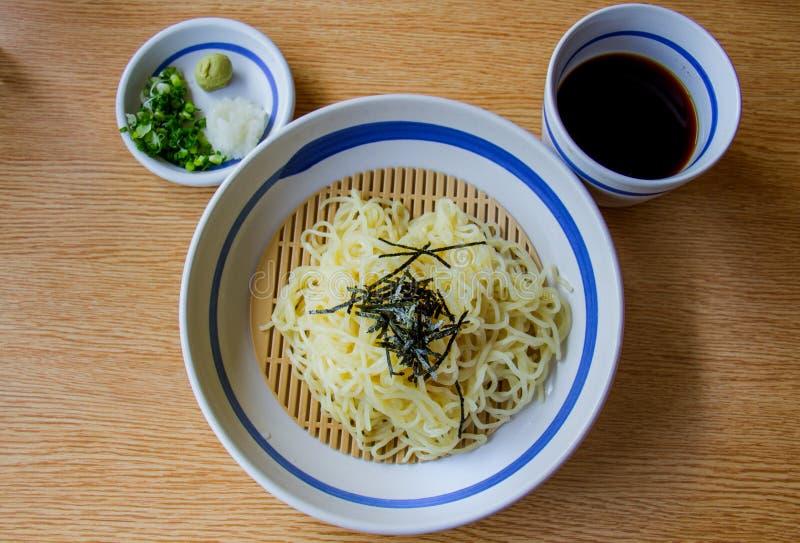 Soba, japanese noodle style. royalty free stock photos