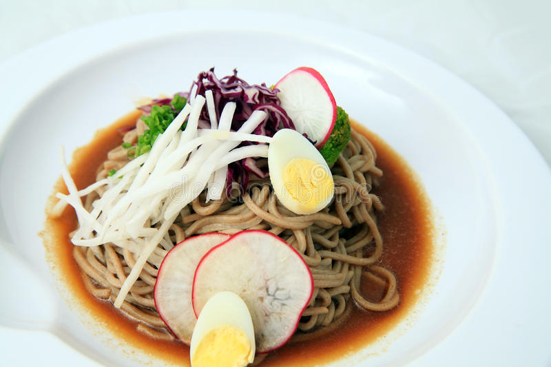 Download Soba noodles japanese food stock photo. Image of asian - 22394826