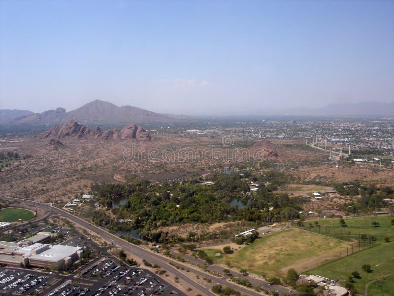 Sobborghi di Phoenix, AZ fotografia stock libera da diritti