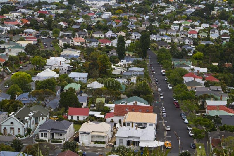 Sobborgo di Auckland fotografia stock