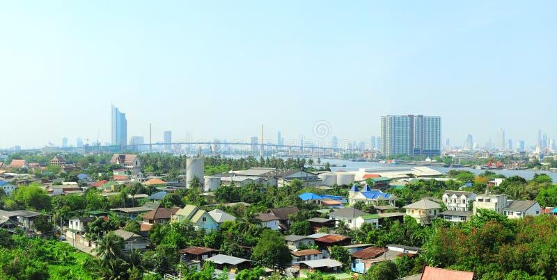Sobborgo di Bangkok fotografie stock