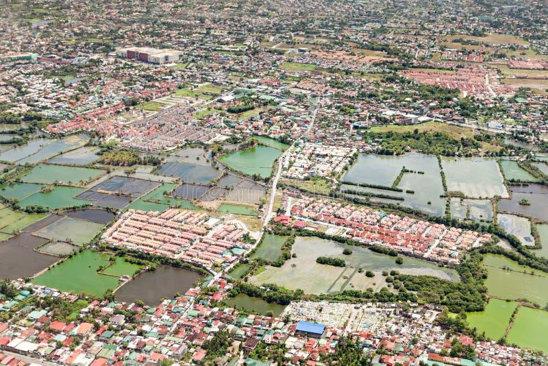 Sobborgo di Manila immagine stock libera da diritti
