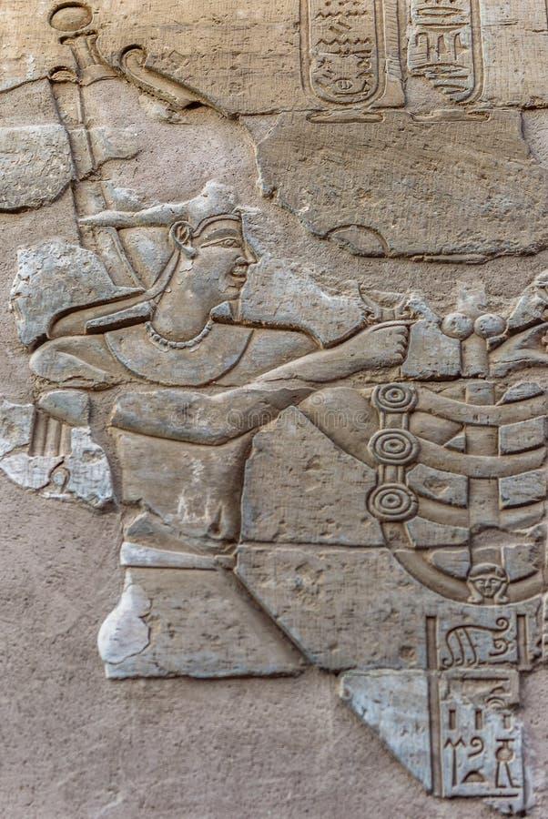 Sobek świątynia w Kom Ombo, Egipt obrazy royalty free