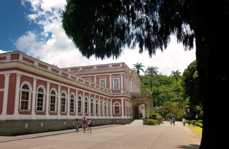 Sobras da família imperial portuguesa em Brasil imagens de stock