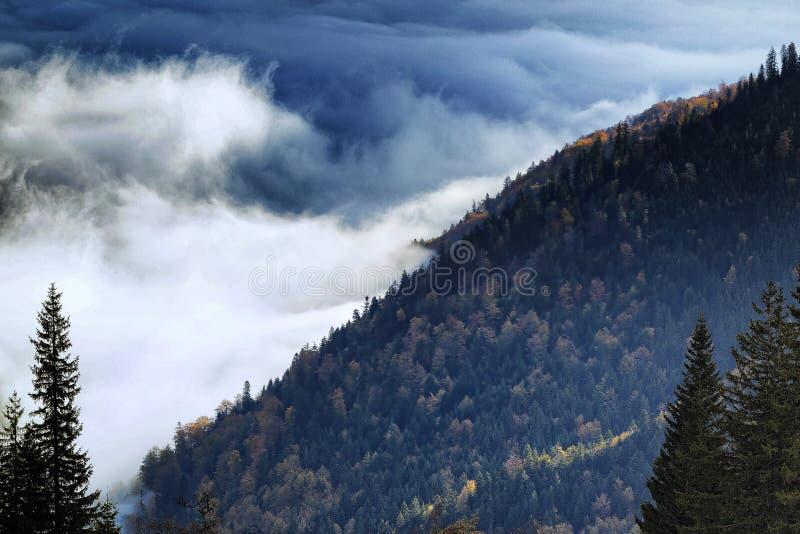 Sobre as nuvens fotos de stock