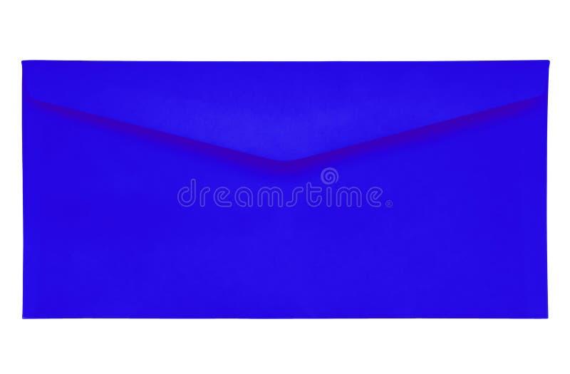Sobre cerrado - azul marino imagen de archivo libre de regalías