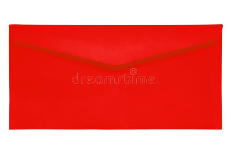 Sobre cerrado - rojo fotos de archivo libres de regalías