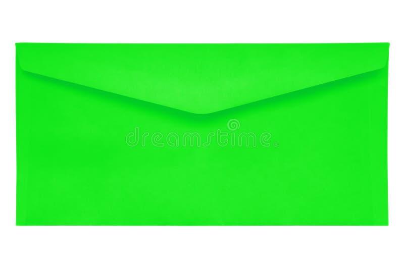 Sobre cerrado - verde imágenes de archivo libres de regalías
