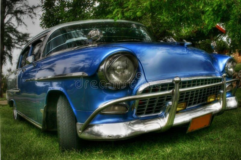 Sobre el coche cubano retro stock de ilustración