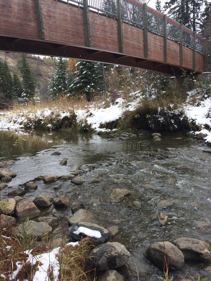 Sobre el río imagen de archivo libre de regalías
