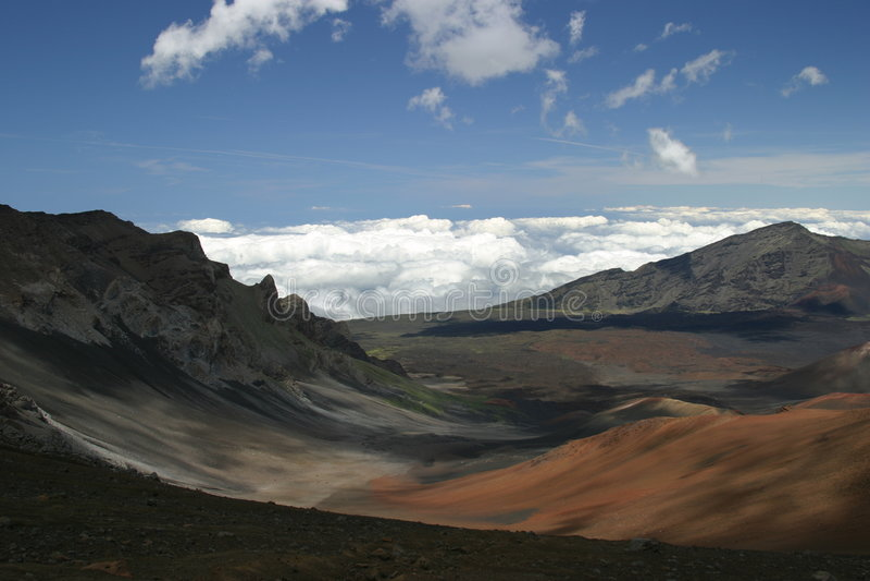 Sobre Haleakala imagens de stock royalty free