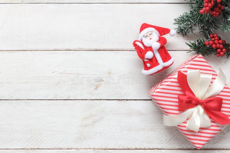 Sobre imagen de la visión del concepto del fondo de la Feliz Navidad y de la Feliz Año Nuevo imágenes de archivo libres de regalías