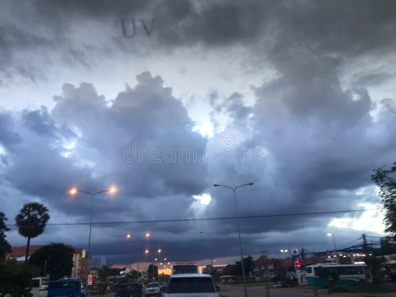 Sobre a la lluvia imagenes de archivo