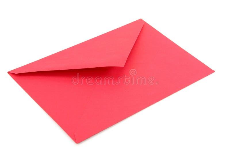 Sobre rojo foto de archivo libre de regalías