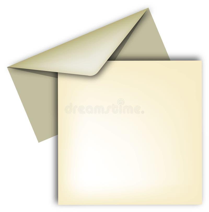 sobre y carta бесплатная иллюстрация