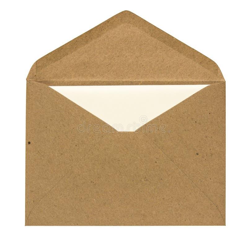 Sobre y tarjeta fotografía de archivo libre de regalías