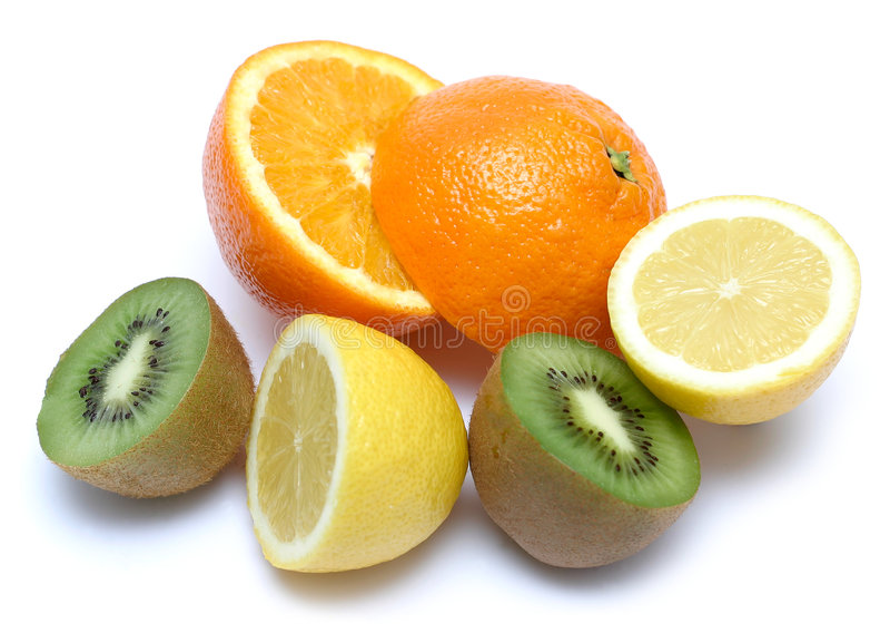 Sobrecarga da vitamina C imagem de stock