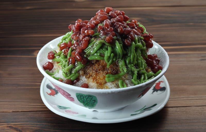 Sobremesa asiática imagem de stock