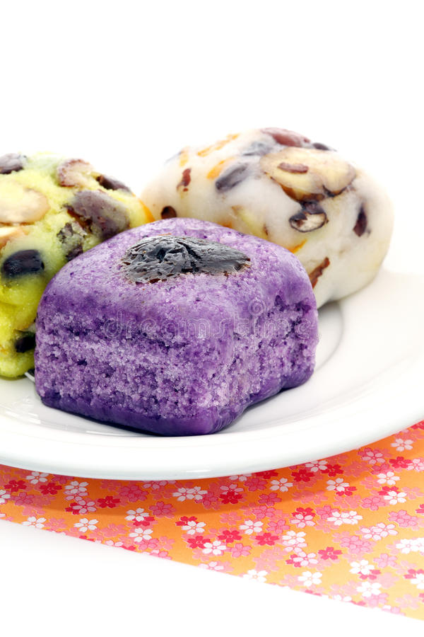 Sobremesa coreana. fotografia de stock royalty free