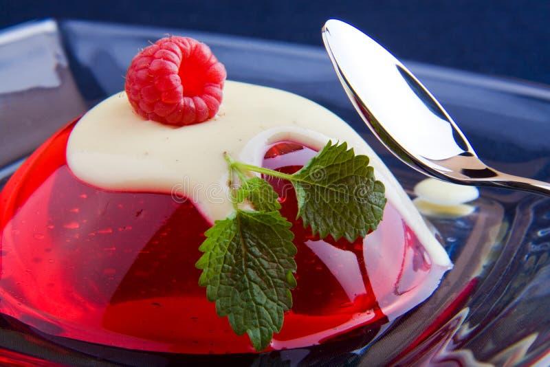 Sobremesa da geléia fotos de stock royalty free