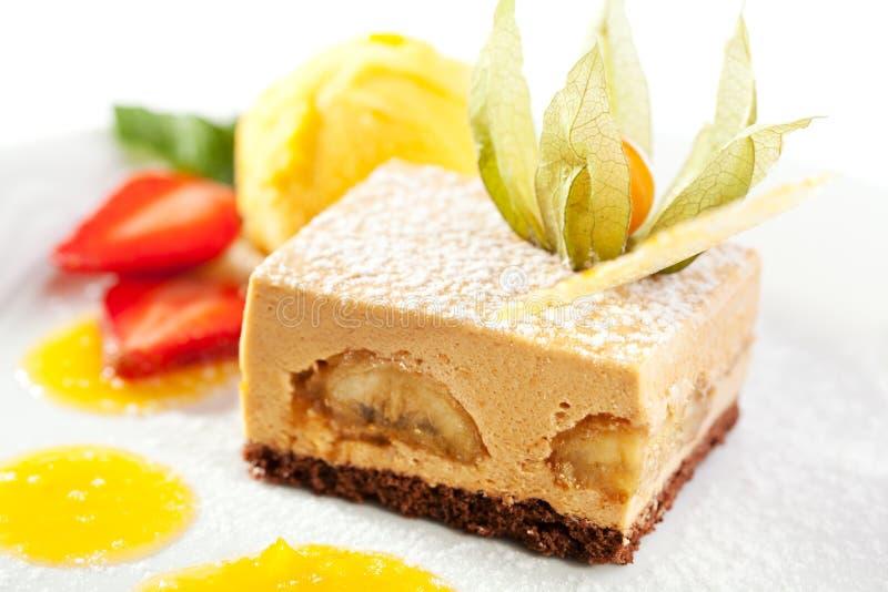 Sobremesa de Tiramisu fotografia de stock royalty free