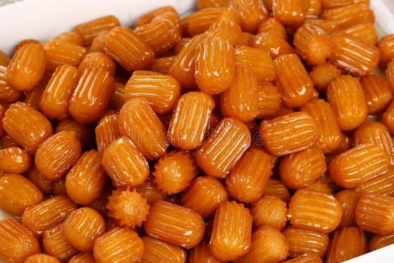 Sobremesa de Tulumba imagem de stock royalty free