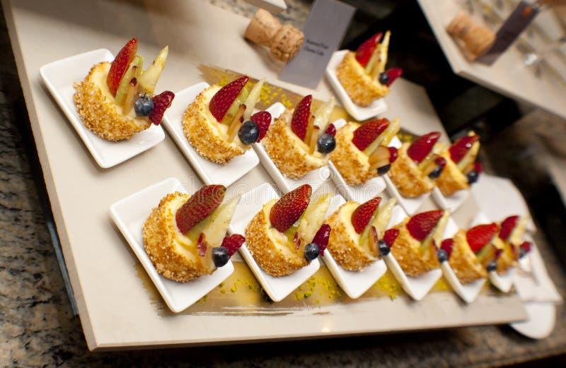 Sobremesa deliciosa imagens de stock royalty free