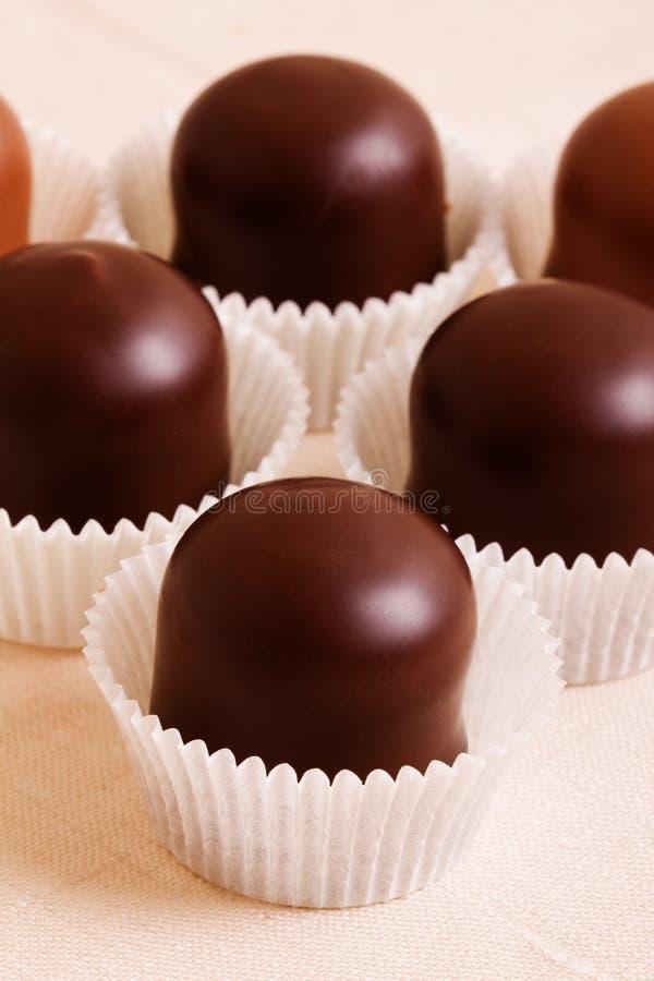 Sobremesa deliciosa do chocolate imagem de stock royalty free