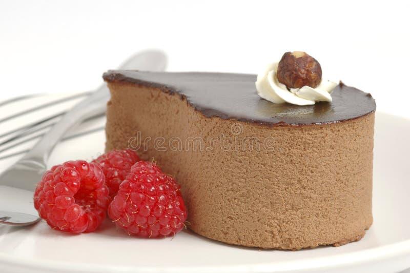 Sobremesa do chocolate imagem de stock royalty free