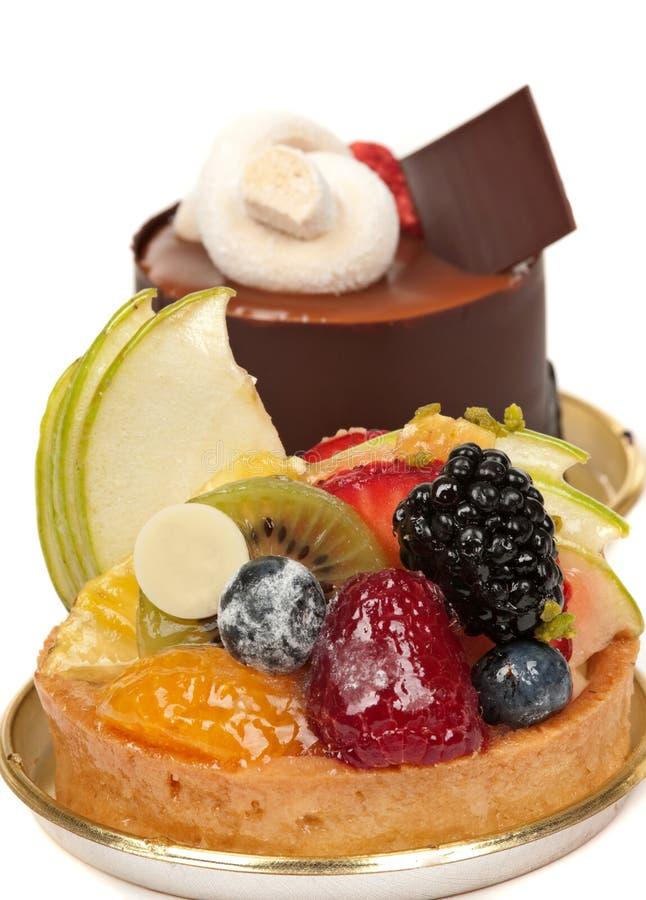 Sobremesa do gourmet foto de stock royalty free
