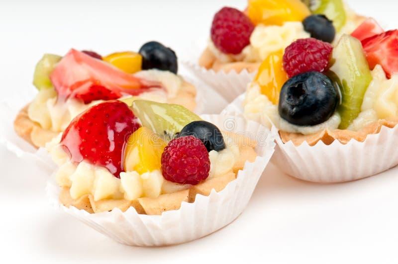 Sobremesa doce da fruta imagens de stock royalty free