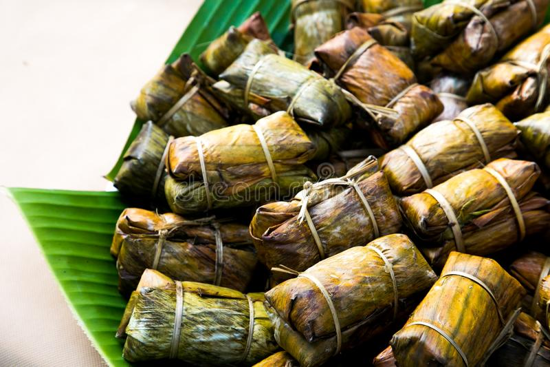 Sobremesa tailandesa do estilo imagem de stock