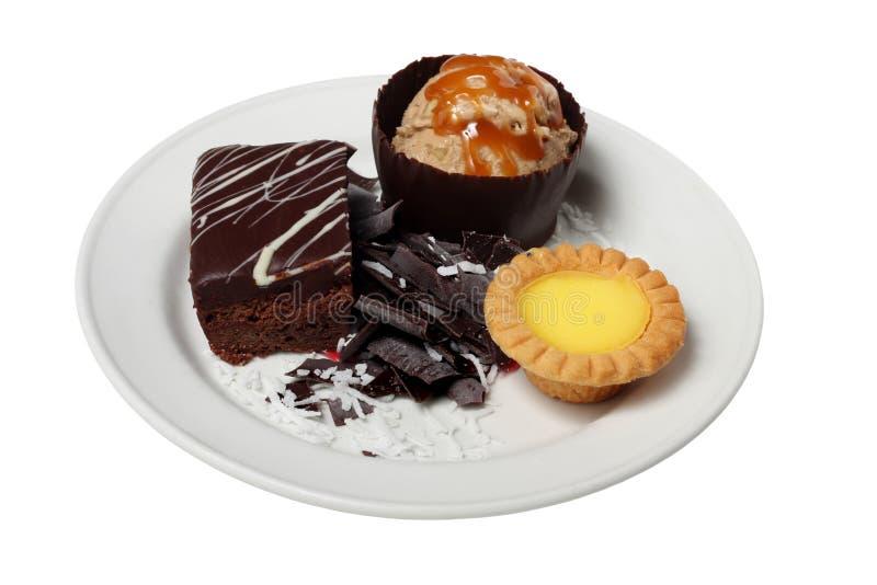 Sobremesas imagem de stock royalty free