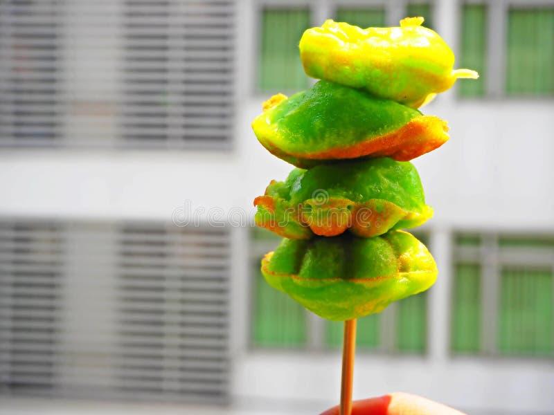 Sobremesas pandan tailandesas foto de stock