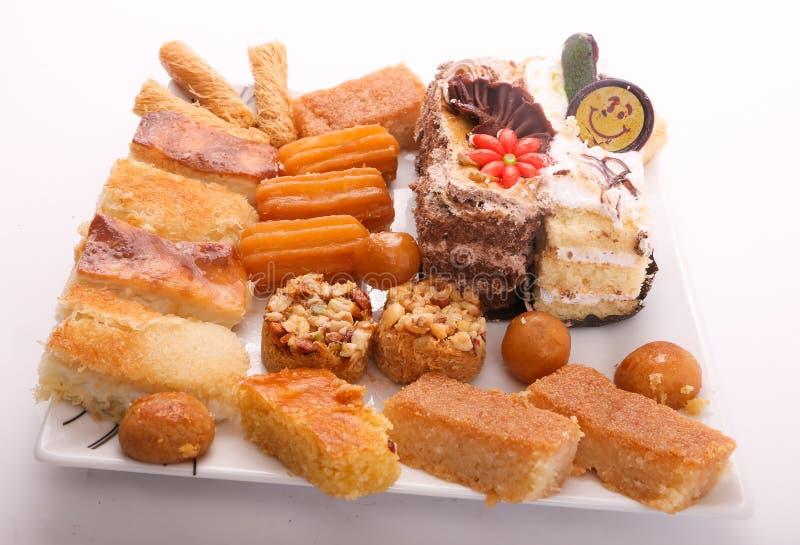 Sobremesas sírias imagens de stock royalty free