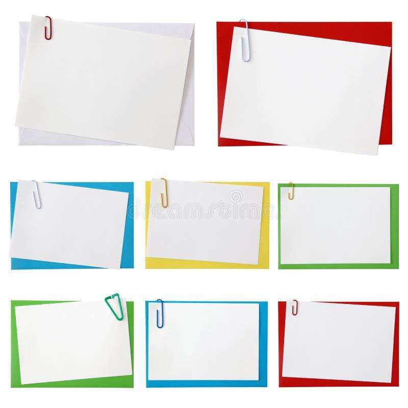 Sobres de papel fotos de archivo