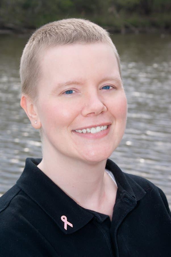 Sobrevivente do cancro da mama fotos de stock royalty free