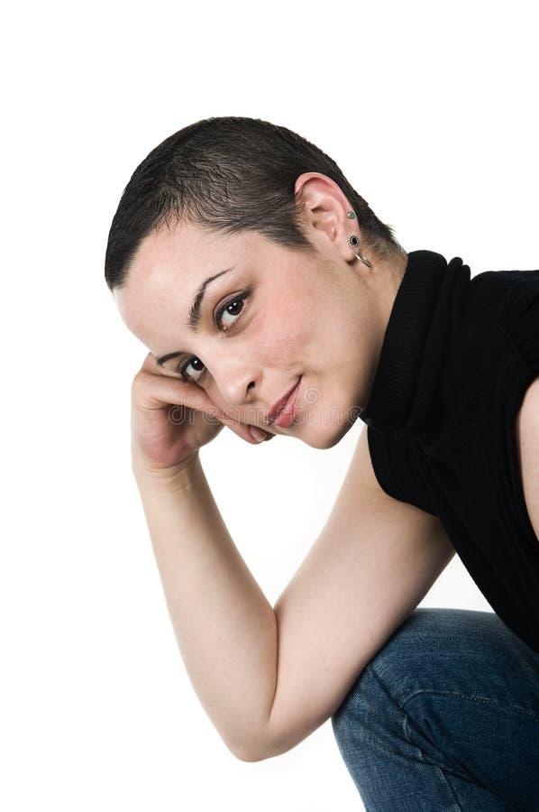 Sobrevivente do cancro da mama foto de stock royalty free