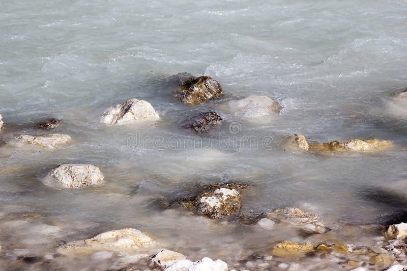 The Soca river, Slovenia royalty free stock photo